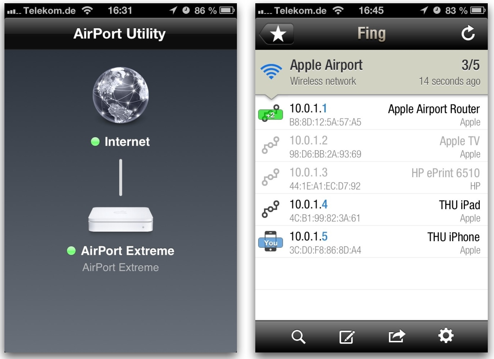 Suppose going problems with apple airport extreme router didn't have