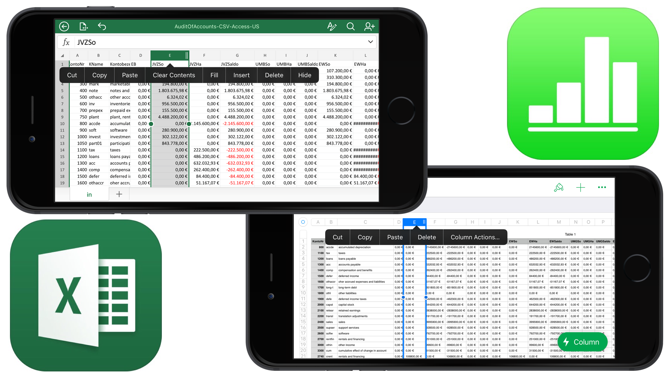 Numbers INotesYou - Apple numbers invoice system